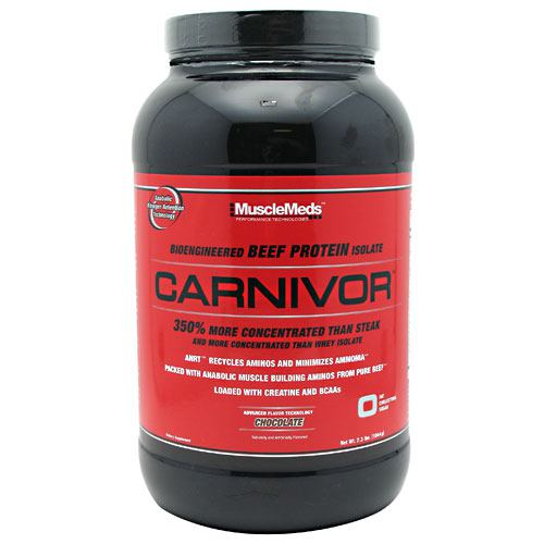 carnivor beef protein - Isolate Powder by MuscleMeds - 2.3 lb