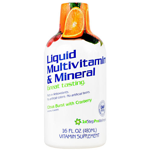 High Performance Fitness Liquid Multivitamin & Mineral - Citrus Burst with Cranberry - 16 oz - 673131100002