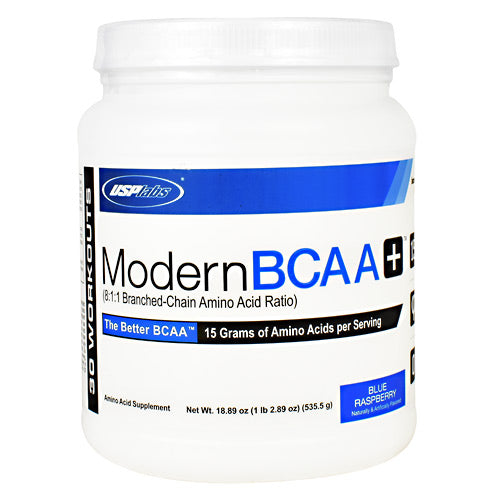 USP Labs Modern BCAA+ - Blue Raspberry - 30 Servings - 094922423597