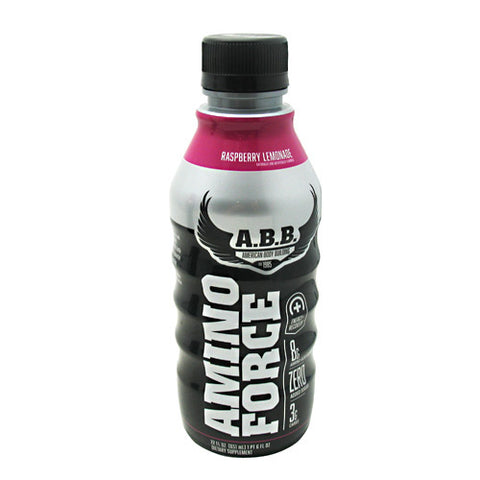 ABB Amino Force - Raspberry Lemonade - 12 Bottles - 00045529889828