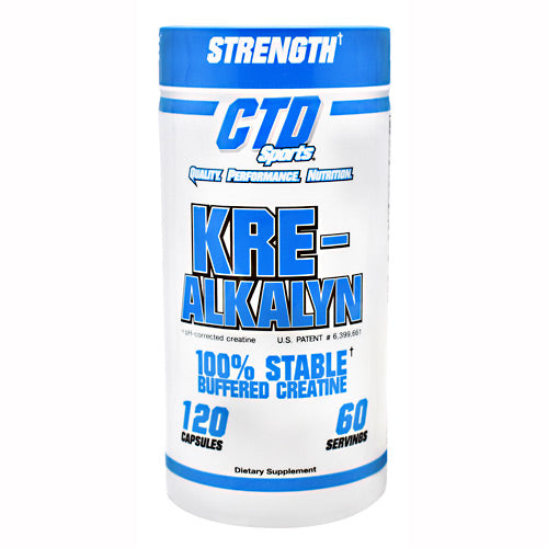 Kre-Alkalyn - CTD Labs - Buffered Creatine - 120 Capsules