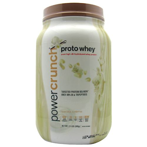Protein Powder Power Crunch - proto whey mass