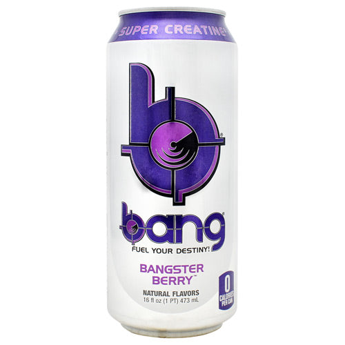 Bang  Bangster Berry Flavor  12 Cans | VPX