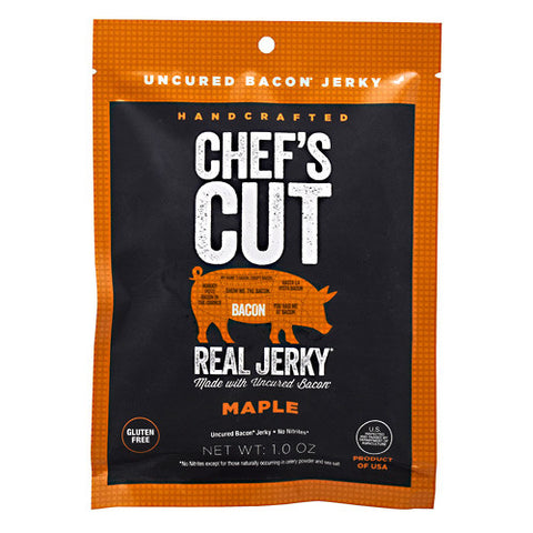 Chefs Cut Real Jerky Real Bacon Jerky - Maple - 2 oz - 858959005771