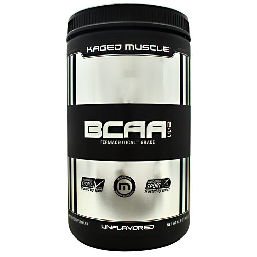Kaged Muscle BCAA 2:1:1 - Unflavored - 72 Servings - 013189942115