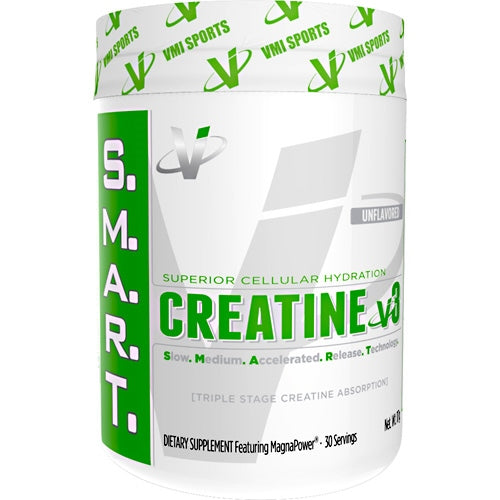 Creatine v3 - VMI Sports S.M.A.R.T. - Unflavored - 30 Servings