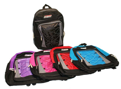 Multi-Pocket Hikers Backpack - Pink