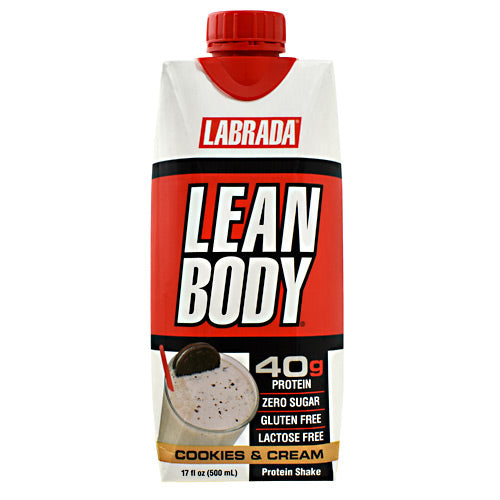 Lean Body RTD Protein- Cookies & Cream - Labrada Nutrition