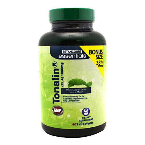 Betancourt Nutrition Tonalin CLA 120 Softgels - 120 Softgels - 857487004744