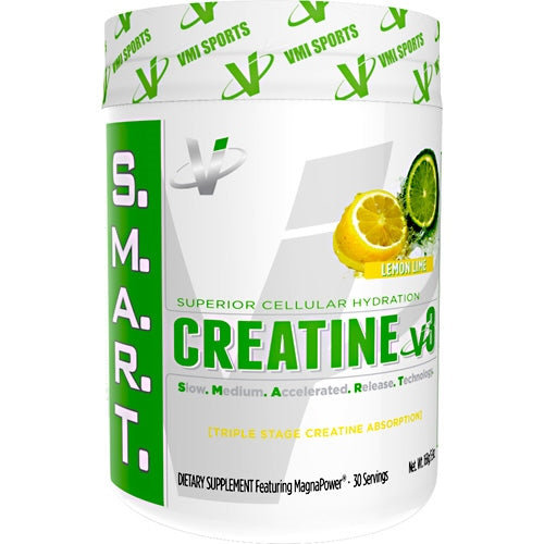 Creatine v3 - VMI Sports S.M.A.R.T. - Lemon Lime - 30 Servings