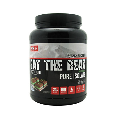 Eat The Bear Grizzly Pure Isolate - Mint Chocolate - 2 lb - 637262796961
