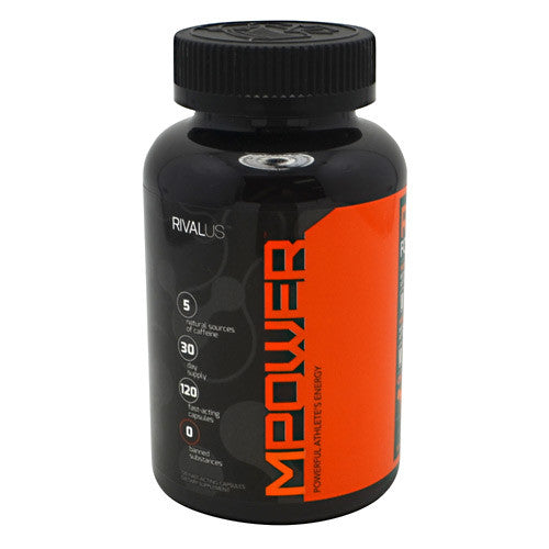 MPower - Rivalus  - Powerful Athletes Energy - 168 Capsules