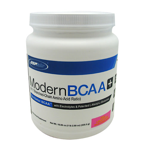 USP Labs Modern BCAA+ - Pink Lemonade - 30 Servings - 094922447531