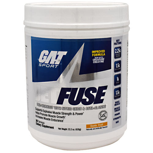 GAT JetFUSE - Exotic Fruit - 30 Servings - 816170021123