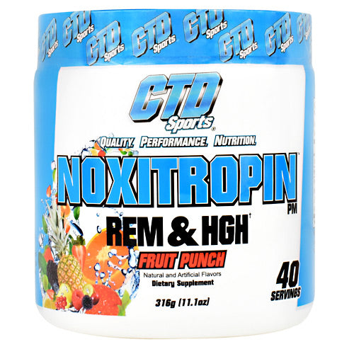 CTD Labs Noxitropin PM - Fruit Punch - 40 Servings - 094922822628