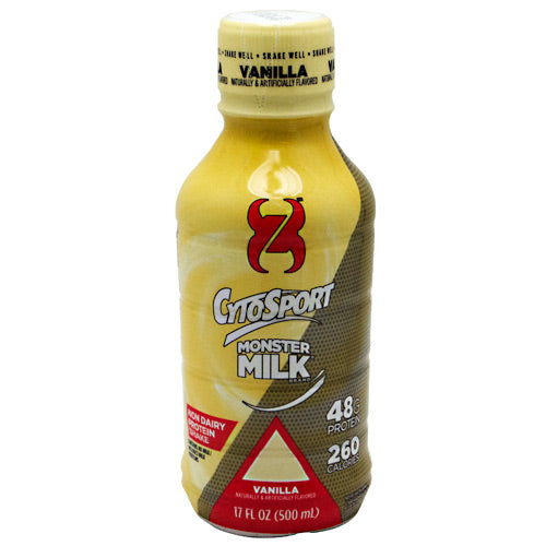 Cytosport Monster Milk RTD - Vanilla - 12 ea - 876063007108