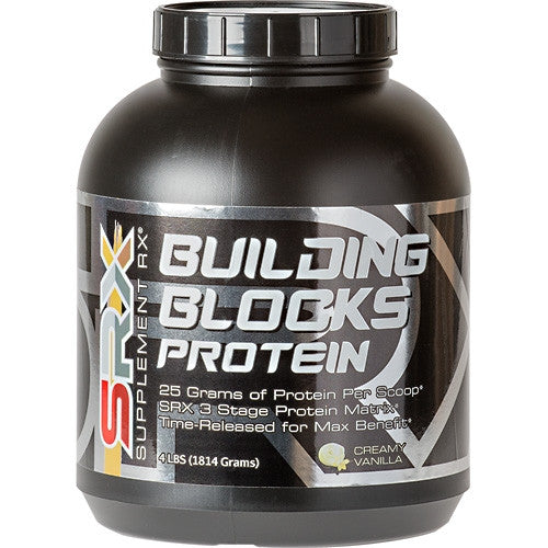SUPPLEMENT RX Building Blocks Protein - Supps360.com - 4