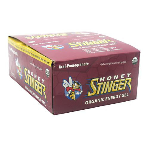 Honey Stinger Organic Energy Gel - Acai-Pomegranate - 24 Packets - 810815020410