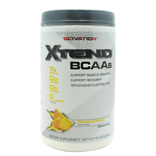 Scivation Xtend - Pineapple - 30 Servings - 812135020675