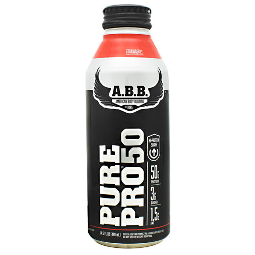 ABB Pure Pro 50 Protein Shake- Strawberry - ABB