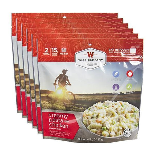 NEW Creamy Chicken Pasta Cook in the Pouch - 6 PACK