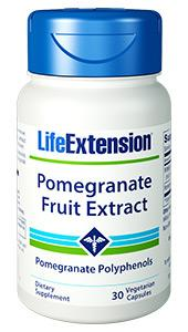 Pomegranate Fruit Extract | 30 vegetarian capsules