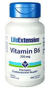 Vitamin B6 |  vegetarian capsules, Life Extension