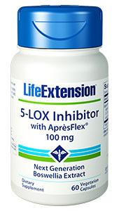 5-LOX Inhibitor with AprèsFlex | 100 mg, 60 vegetarian capsules