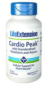 Cardio Peak™ with Standardized Hawthorn and Arjuna | 120 vegetarian capsules