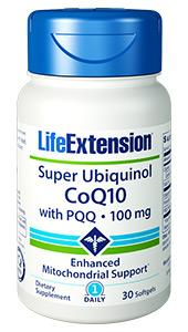 Super Ubiquinol CoQ10 with PQQ | 100 mg, 30 softgels