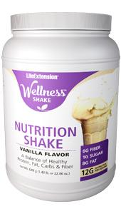 Wellness Shake Vanilla Flavor | 648 grams (1.43 lb. or 22.86 oz.)