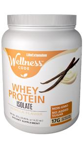 Wellness Code™ Whey Protein Isolate | 403 grams (0.89 lb. or 14.22 oz.)