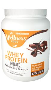 Wellness Code™ Whey Protein Isolate | 437 grams (0.96 lb. or 15.4 oz.)