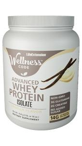 Wellness Code™ Advanced Whey Protein Isolate | 454 grams (1 lb. or 16 oz.)