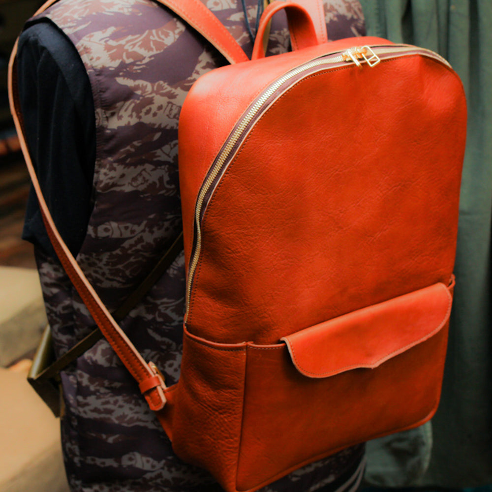 Leather Backpack (Italian Minerva Leather)