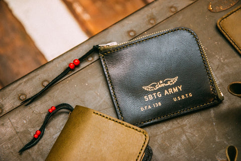 SBTG X SECONDNATVRE Flight Logo Wallet