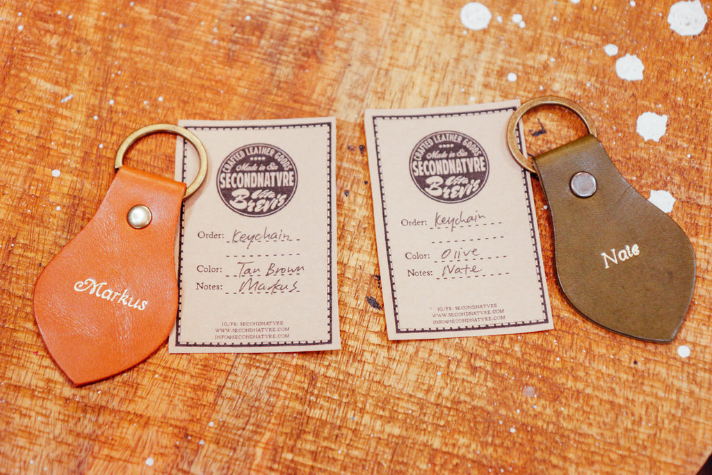 Keychains (Single/Set of 3)
