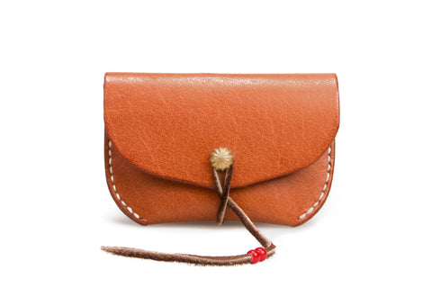 Concho Coin Case - Tan
