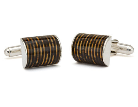 Celluloid Pen Barrel Cuff Links