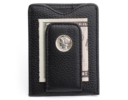 Mercury Dime Money Clip Wallet