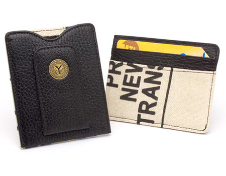 New York Transit Token and Bag Money Clip Wallet