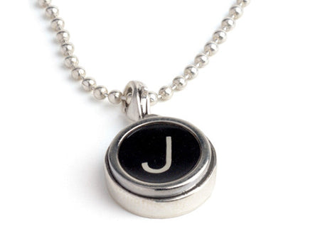 Vintage Typewriter Key Charm by Tokens & Icons