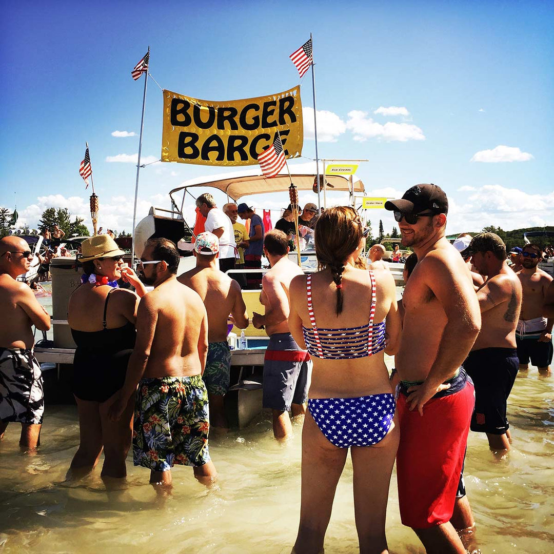 Gettin' Saucy on Torch Lake!