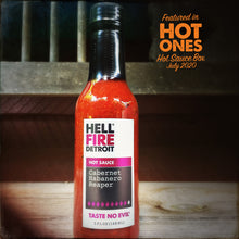Load image into Gallery viewer, Cabernet Habanero Reaper - Hell Fire Detroit