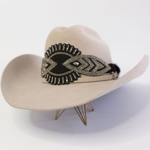 The Cheyenne Hat Wrap (Black)