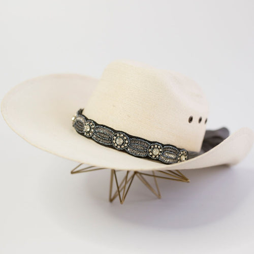 The Dallas Hat Wrap (Charcoal)