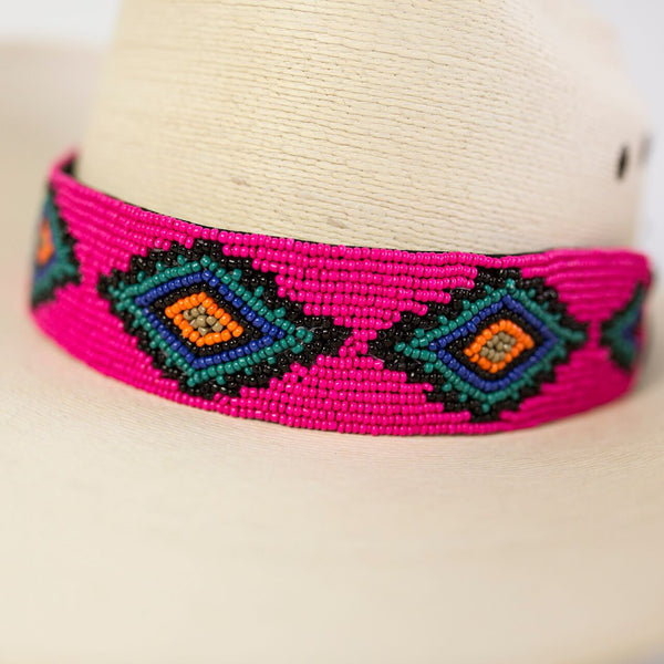 The Sedona Hat Wrap (Pink)