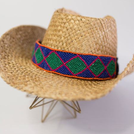 The Sedona Hat Wrap (Turquoise)
