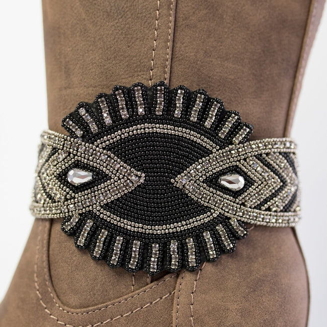 The Cheyenne Boot Wraps (Black)