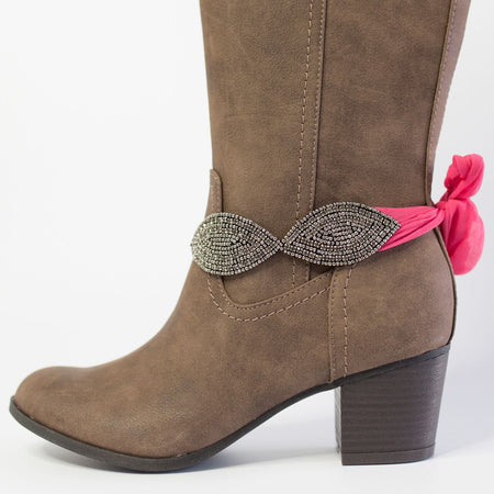 Little Dallas Boot Wraps (Pink)